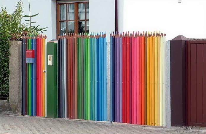 шарена ограда